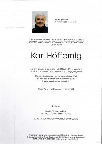 Karl Höffernig