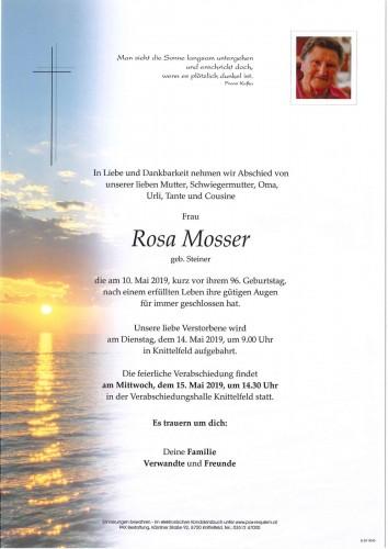 Rosa Mosser