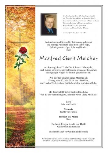 Manfred Gerit Melcher