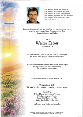Walter Zeber