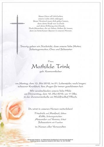 Mathilde Trink