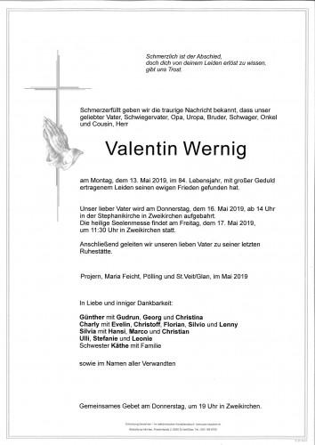 Valentin Wernig