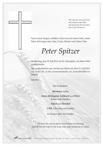Peter Spitzer