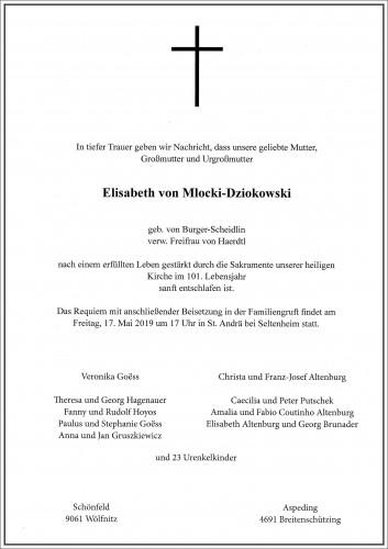 Elisabeth Mlocki - Dziokowski