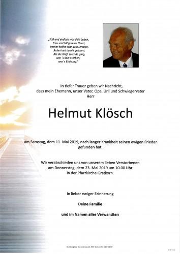 Helmut Klösch