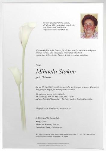 Mihaela Stakne