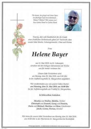 Helene Bayer
