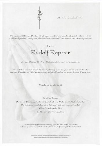Rudolf Ropper