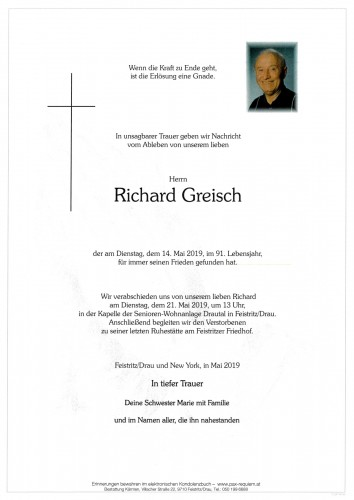 Richard Greisch