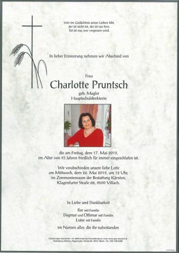 Charlotte Pruntsch