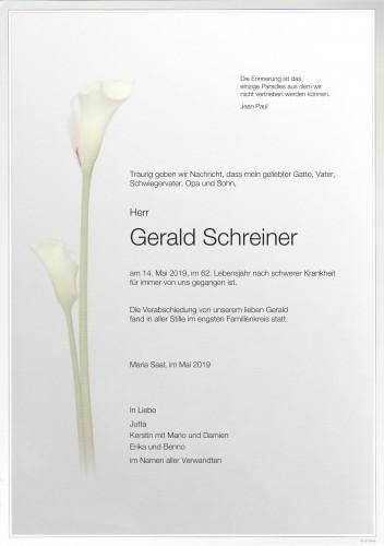 Gerald Schreiner