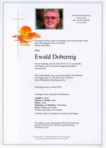 Ewald Dobernig