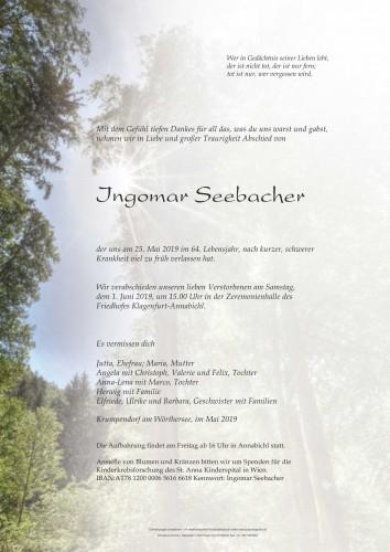 Ingomar Seebacher