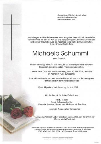 Michaela Schummi