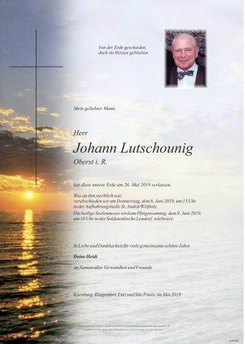 Johann Lutschounig
