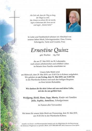 Ernestine Quinz