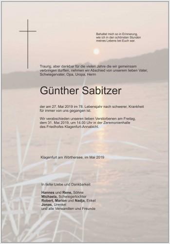 Günther Sabitzer