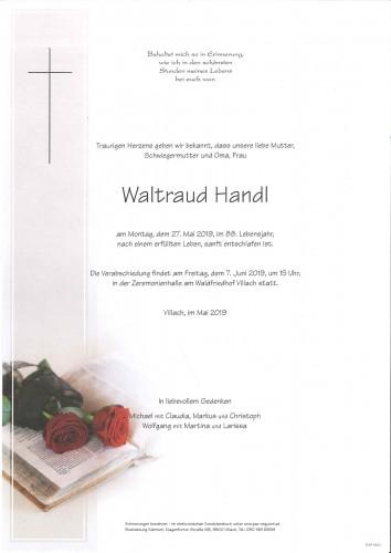 Waltraud Handl