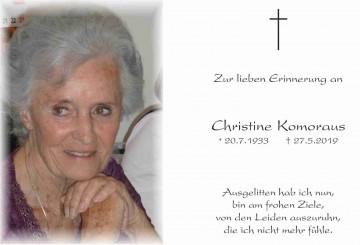 Christine Komoraus