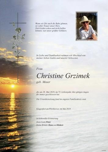 Christine Grzimek