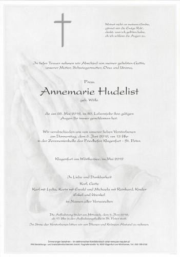 Annemarie Hudelist