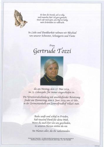 Gertrude Tozzi
