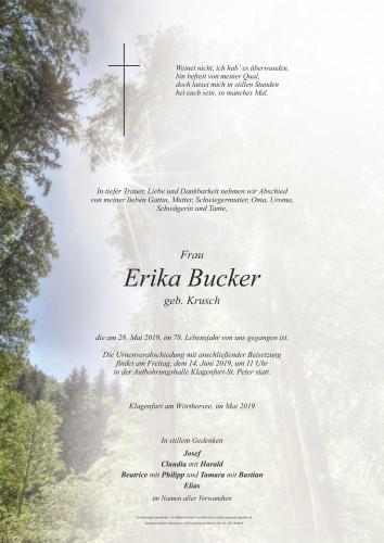 Erika Bucker