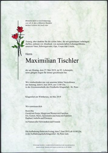 Maximilian Bernhard Tischler