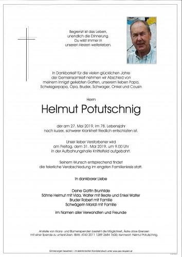 Helmut Potutschnig