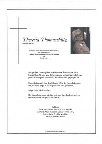 Theresia Thomaschütz