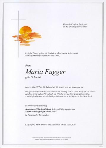Maria Fugger