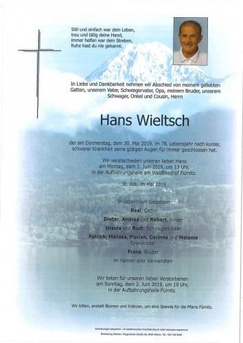 Hans Wieltsch