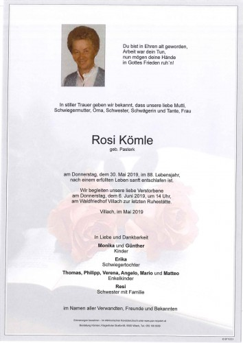 Rosi Kömle