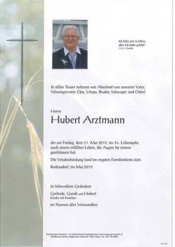 Hubert Arztmann