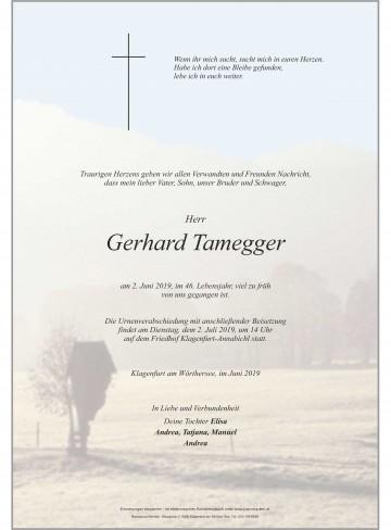 Gerhard Tamegger