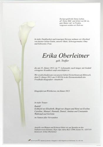 OBERLEITNER Erika