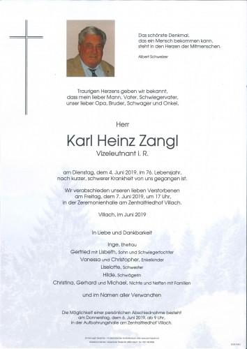 Karl Heinz Zangl