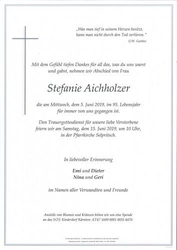 Stefanie Aichholzer