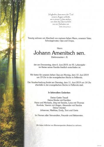 Johann Amenitsch sen.
