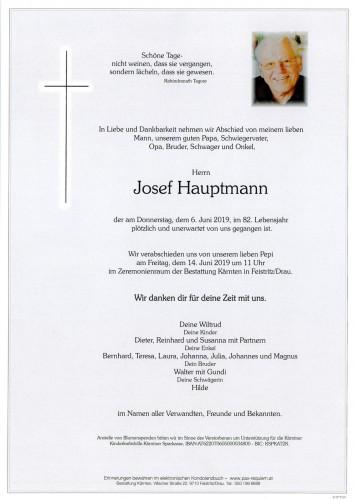 Josef Hauptmann