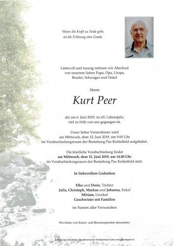 Kurt Peer