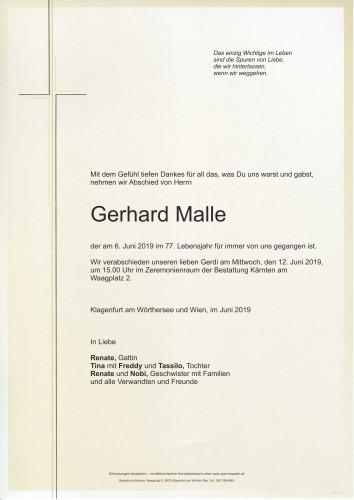 Gerhard Malle
