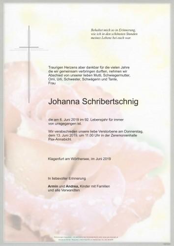 Johanna Schribertschnig