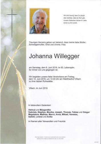 Johanna Willegger