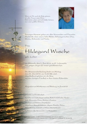 Hildegard Wusche