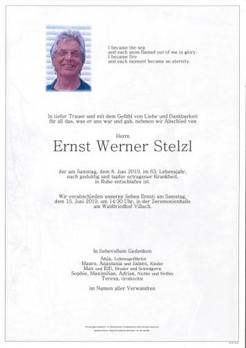 Ernst Werner Stelzl