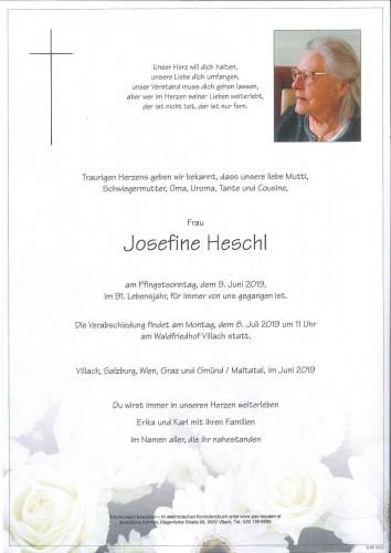 Josefine Heschl