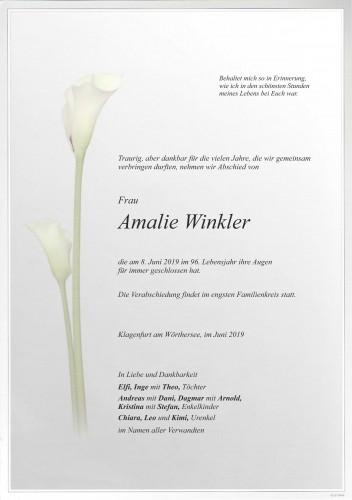 Amalie Winkler
