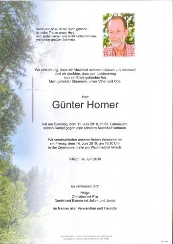 Günter Horner