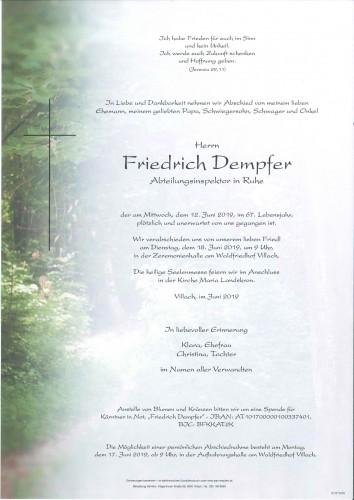 Friedrich Dempfer